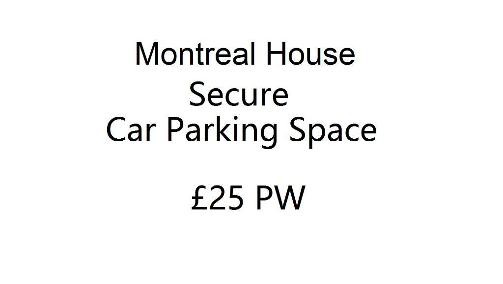 Car Park Space, Montreal House, Canada Water, SE16 7AJ